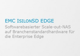 Softwarebasierter Scale-out-NAS auf Branchenstandardhardware für die Enterprise Edge