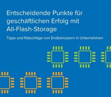Entscheidende Punkte für geschäftlichen Erfolg mit All-Flash-Storage