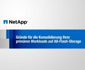 Gründe für die Konsolidierung Ihrer primären Workloads auf All-Flash-Storage