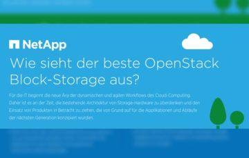 Wie sieht der beste OpenStack Block-Storage aus?