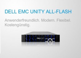 Flexibel und kostengünstig: Unity All Flash