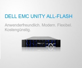 Flexibel und kostengünstig: Unity All Flash