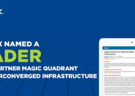 Nutanix benannt als Leader im Gartner Magic Quadrant für hyperkonvergente Infrastruktur 2018