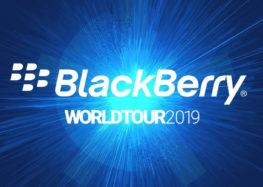 BlackBerry World Tour 2019 startet mit spannenden Sicherheitspräsentationen und innovativen Unternehmenslösungen