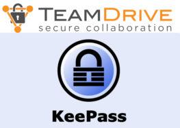 Open Source KeePass und TeamDrive im Team