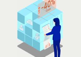 Cloud Setup – Sparen Sie 40 Prozent IT-Kosten