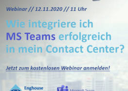 Enghouse integriert Contact Center in Microsoft Teams