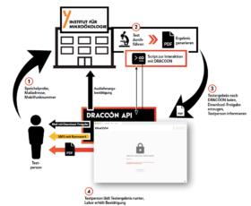 Schnelle & sichere Bereitstellung von SARS-CoV-2-Testergebnissen: MZV Institut für Mikroökologie (IfM) setzt auf Cloud-Lösung von DRACOON