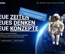 "IT-Kongress ""ITSM Horizon"" findet auch 2021 virtuell statt"